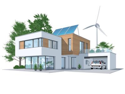 Energieeffizienz-Haus